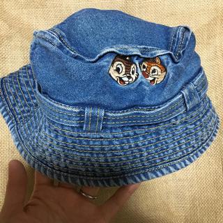 チップアンドデール(チップ&デール)のディズニーストアー   チップ&デール  デニム帽子  キッズ(帽子)