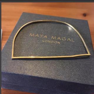 ビームス(BEAMS)のMAYA MAGAL バングル 細 ゴールド(ブレスレット/バングル)
