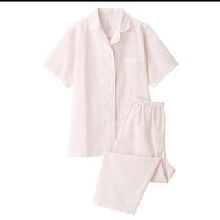 ムジルシリョウヒン(MUJI (無印良品))の脇に縫い目のない サッカー織り半袖パジャマ (パジャマ)