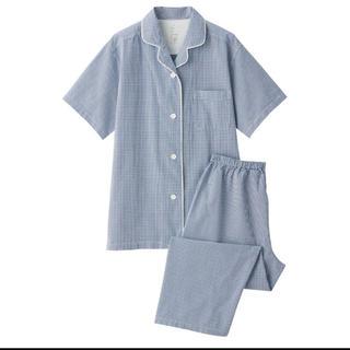 ムジルシリョウヒン(MUJI (無印良品))の脇に縫い目のない サッカー織り半袖パジャマ(パジャマ)