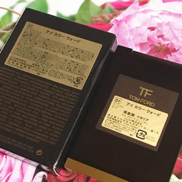 TOM FORD(トムフォード)のトムフォード アイカラー クォード 01 ゴールデンミンク コスメ/美容のベースメイク/化粧品(アイシャドウ)の商品写真