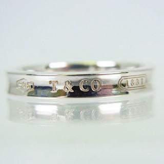 ティファニー(Tiffany & Co.)のTIFFANY 925 ナロー 1837 リング 20号(リング(指輪))