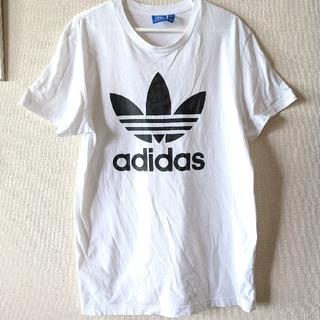 【adidas originals】半袖Tシャツ白 ユニセックス