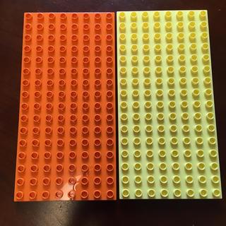 レゴ(Lego)のデュプロ  基礎板 薄いプレート(知育玩具)