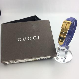 グッチ(Gucci)の【GUCCI】グッチ ブレスレット バングル バックルモチーフ ベルトモチーフ (ブレスレット/バングル)
