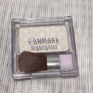 キャンメイク(CANMAKE)のキャンメイク ハイライター 01 ミルキーホワイト 4.4g(フェイスカラー)