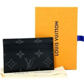 ルイヴィトン(LOUIS VUITTON)の新品 ルイヴィトン カードケース モノグラムエクリプス パスケース メンズ(名刺入れ/定期入れ)
