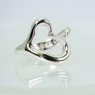 ティファニー(Tiffany & Co.)のTIFFANY 925 オープンハート リング 9号[f12-1](リング(指輪))
