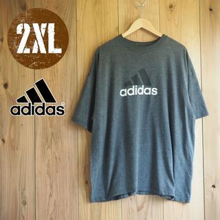 QBT39/2XLサイズ/アディダス Tシャツ