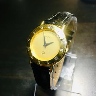 グッチ(Gucci)の【確実正規品 可動品】グッチ 腕時計 3000L ゴールド 時計 レディース(腕時計)