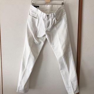 グッチ(Gucci)のGUCCI 白デニムパンツ メンズ(デニム/ジーンズ)