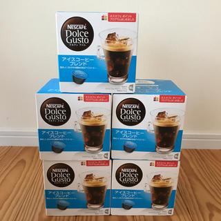 Nestle - ネスカフェ ドルチェグスト  アイスコーヒーブレンド 5箱
