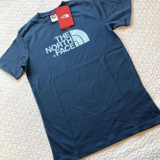 THE NORTH FACE - 新品 タグ付き the north face キッズ ロゴT トップス Tシャツ