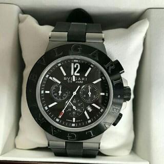 ブルガリ(BVLGARI)のブルガリ bvlgari メンズ腕時計  ステンレス シルバー クロノグラフ(腕時計(アナログ))