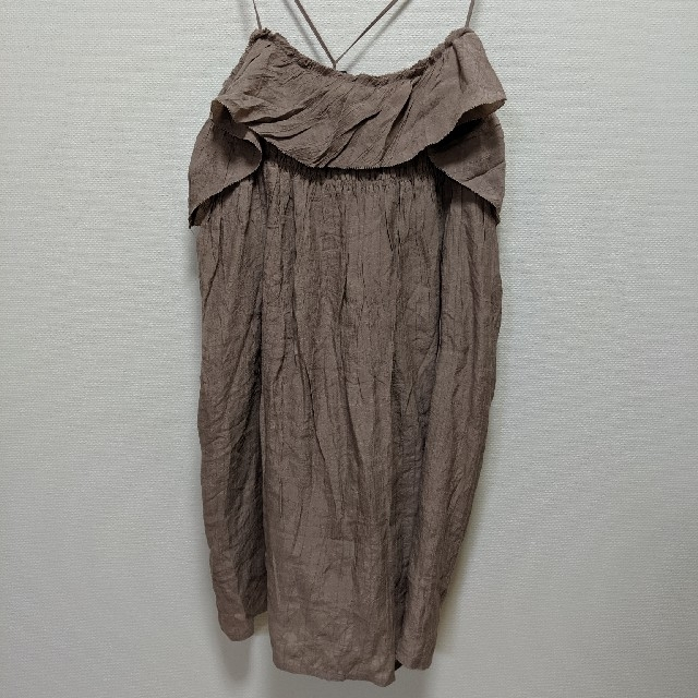 mystic(ミスティック)のミスティック キャミワンピース レディースのワンピース(ひざ丈ワンピース)の商品写真