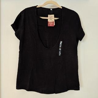 未使用・無印良品 授乳に便利なTシャツ