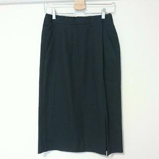 アーバンリサーチ(URBAN RESEARCH)のURBAN RESEARCH / タグつき!スリットタイトスカート(ひざ丈スカート)