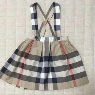 バーバリー(BURBERRY)のバーバリースカート 吊りスカート 80(スカート)