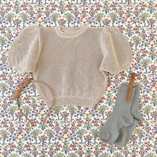 Caramel baby&child  - soor ploom Mimi Knit Top, Milkweed 4-5y