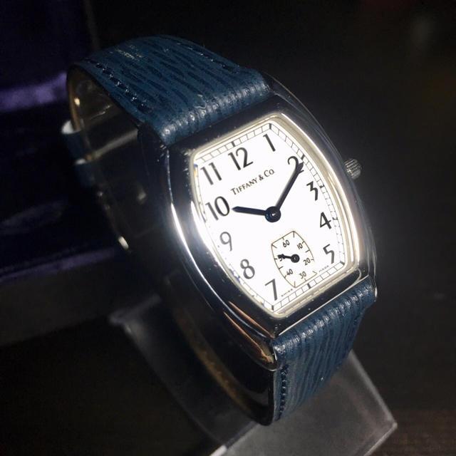 new concept 734f0 2dc29 【美品 正規品】ティファニー 腕時計 クラシック トノー アトラス シルバー