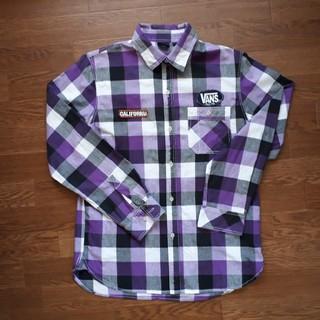 ヴァンズ(VANS)のVANSチェックシャツLサイズ(シャツ)