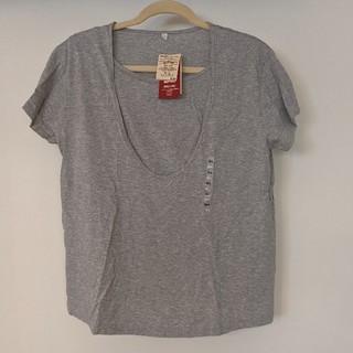 MUJI (無印良品) - 未使用・無印良品 授乳に便利なTシャツ