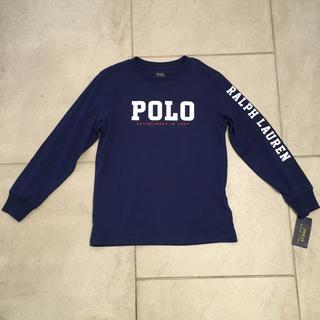 ポロラルフローレン(POLO RALPH LAUREN)のPOLO RALPH LAURENポロラルフローレンロゴ長袖Tシャツ 新品(Tシャツ/カットソー)