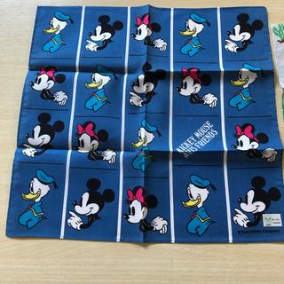 Disney - ハンカチ 新品 レトロミッキー❓