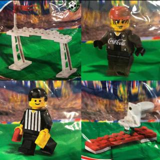 レゴ(Lego)の新品 LEGO コカコーラ ワールドサッカー シリーズ ゴール 4点セット(知育玩具)