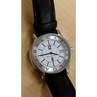 ブルガリ(BVLGARI)のブルガリ ソロテンポ クォーツ 白文字盤(腕時計(アナログ))