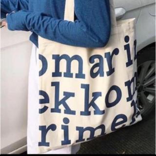 marimekko - 新品未使用 マリメッコ   トートバック エコバッグ ブルー