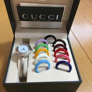 グッチ(Gucci)の美品  グッチ 腕時計チェンジベゼル(腕時計)