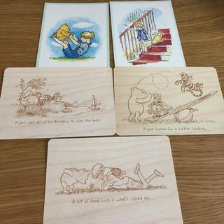 クマノプーサン(くまのプーさん)のポストカードセット12-A くまのプーさん 5枚(写真/ポストカード)
