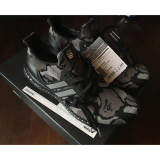 アベイシングエイプ(A BATHING APE)の adidas BAPE ULTRA BOOST CAMO 27.5cm(スニーカー)