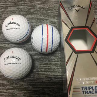 キャロウェイ(Callaway)のキャロウェイ 最新モデル 3個 1スリープ ゴルフ ボール(その他)