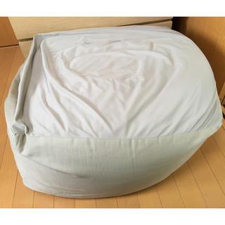 ムジルシリョウヒン(MUJI (無印良品))の無印良品 人をダメにするソファー 体にフィットするソファー(ビーズソファ/クッションソファ)