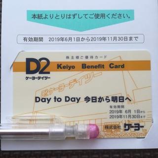 ケーヨーデイツー D2★株主優待カード1枚