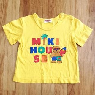 ミキハウス(mikihouse)のミキハウス Tシャツ 80 トロピカル レトロ レア(Tシャツ)