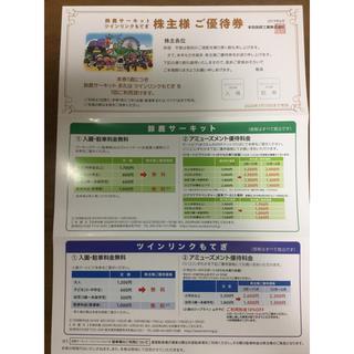ホンダ(ホンダ)のHONDA 株主優待券(遊園地/テーマパーク)