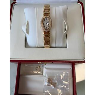 カルティエ(Cartier)のせさみ様専用【カルティエ】ミニベニュワール ダイヤイエローゴールド(腕時計)