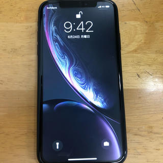 Apple - iPhoneXR ブラック