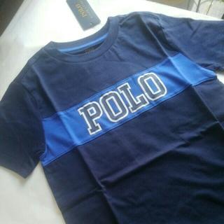 ポロラルフローレン(POLO RALPH LAUREN)の120 130 位 Boys 7 ラルフローレン グラフィックTシャツ ネイビー(Tシャツ/カットソー)