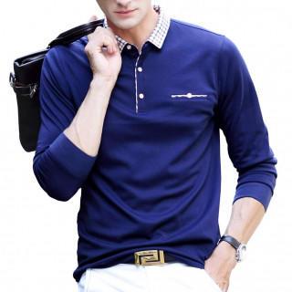 長袖 メンズ ゴルフウェア ビジネス スポーツポロシャツ 男性 ゴルフポロシャツ(ポロシャツ)