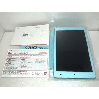 キョウセラ(京セラ)の新品 au Qua tab QZ8 KYT32 チョコミント 送料無料(タブレット)