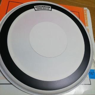 アクエリアン AQUARIAN スーパーキック3 16インチ バスドラム(バスドラム)