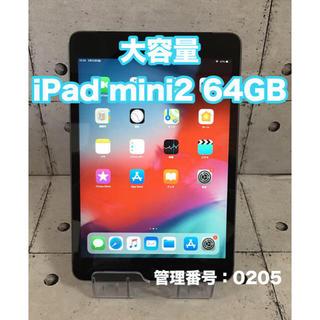 アイパッド(iPad)の良品 iPad mini2 64GB wifi+セルラーモデル 国内正規品(タブレット)