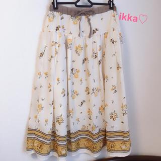 イッカ(ikka)の6/25まで値下げ♡ikka♡イッカ♡スカート(ロングスカート)