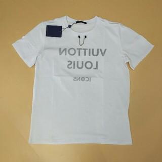 ルイヴィトン(LOUIS VUITTON)のLV 個性Tシャツ 2019新品 レディース 夏コーデ(Tシャツ(半袖/袖なし))