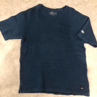 ハリウッドランチマーケット(HOLLYWOOD RANCH MARKET)のブルーブルー ハリラン ブフト クレプスキュール オクラ ポータークラシック(Tシャツ/カットソー(半袖/袖なし))