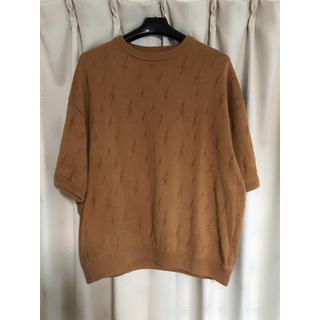crepuscule thunder knit サイズ2(Tシャツ/カットソー(七分/長袖))